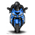 Kawasaki Motorschlüssel