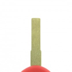 Piaggio Motorschlüssel - Rot - Schlüsselblatt SIP22 - After Market Produkt