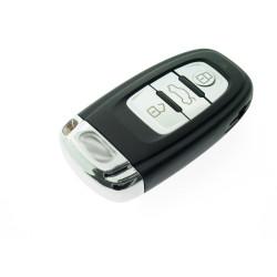 Smartkey Schlüsselgehäuse für Audi - 3 Tasten mit Notschlüssel - After Market Produkt