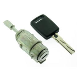 Komplettesset linke Tür mit Schlüssel fur Audi A6 - Schlüsselblatt HU66 - After Market Produkt