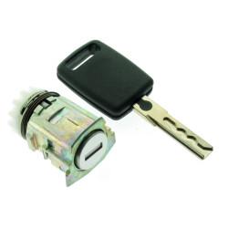 Tür Schloss mit Schlüssel fur Audi A3 und A4 - Schlüsselblatt HU66 - After Market Produkt