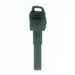 Notschlüssel für Audi - inklusive ID48 CAN transponder - Schlüsselblatt HU66 - After Market Produkt