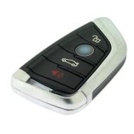 BMW Smartkey 3 Tasten + Panik Taste -  434 Mhz - CAS4/CAS4+(EWS5)/FEM - Schwarze Version - OEM Produkt