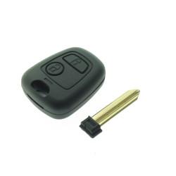 Citroen 2 Tasten Schlüssel Gehäuse  - ohne Schlüsselblatt SX9  (CIT101B)  - After Market Produkt