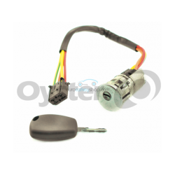 Zündschlossset mit 1 gefräßten Schlüsseln für Dacia Logan - Sandero - Schlüsselblatt VAC102- OEM Produkt