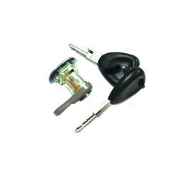 Tür Schloss mit Zündschlüssel für Dacia Dokker - Mit 1 Schlüssel - Schlüsselblatt VAC102 - OEM Produkt