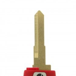 Ducati Motorschlüssel  - Rot- Schlüsselblatt KW17 - After Market Produkt