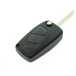 Fiat Klappschlüssel 3 Tasten -  434 Mhz - ID48 Chip - Schlüsselblatt  SIP22 - After Market Produkt