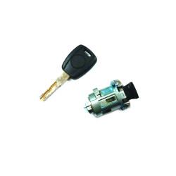 Zündschloss mit 1 gefräßten Schlüssel -  Für Fiat Bravo - Punto - Fiorino - Stilo - Doblo - Schlüsselblatt SIP22  - OEM Produkt