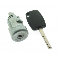 Ford Zündschloss mit 1 em gefräßten Schlüssel für u.a. die Modelle Focus - Schlüsselblatt HU101 - After Market Produkt