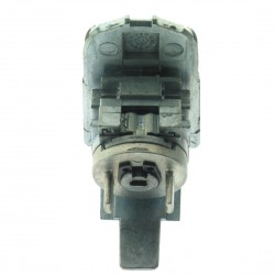 Ford Komplettes linken Türschlossset mit 1 gefräßte Schlüssel ( HU101) für u.a. die Modelle Focus - Schlüsselblatt HU101 - After Market Produkt