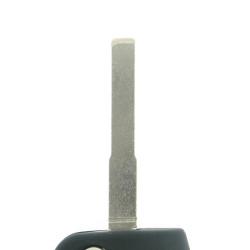 Klappschlüssel Gehäuse 3 Tasten für Ford B-Max - C-Max - Ecosport - Fiesta - Focus - Galaxy - Mondeo - S-Max - Transit Courier - After Market Produkt