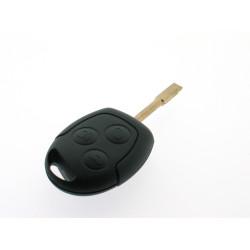 Ford Schlüssel - 3 Tasten - 434 Mhz - 4C Transponder - Schlüsselblatt FO21 - After Market Produkt