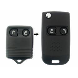 Ford Klappschlüssel-Umbauset 2-Tasten, für Artikel FRD117 - Schlüsselblattt FO38R - After Market Produkt