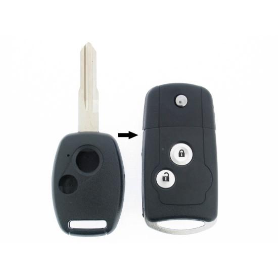 Honda Klappschlüssel-Umbauset 2-Tasten, für Artikel HON104 - After Market Produkt