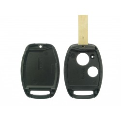 Honda Schlüssel 2 Tasten Schüssel Rohlung - Schlüsselblatt HON66  -  ohne Fach für Transponder - After Market Produkt