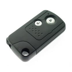 Honda 2 Tasten Smartkey Schlüssel Gehäuse mit Notschlüssel - Schlüsselblatt HON66 - After Market Produkt