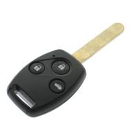 Honda Schlüssel 3 Tasten - Schlüsselblatt HON66 - 434 Mhz - ID46 Chip - Für Accord 2007 -2010 - After Market Produkt