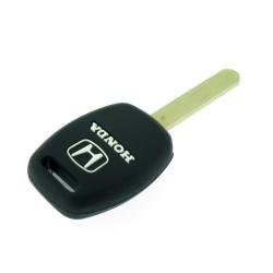 Schlüsselhülle Honda - 2 Tasten - Material Weichgummimaterial- Farbe Orange