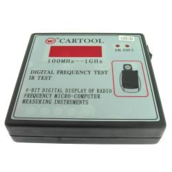 Frequenz Tester - Werkzeug zum Messen der Frequenz der Fernbedienung von u.a. Autoschlüssels - 100 Mhz - 1000 Mhz - After Market Produkt