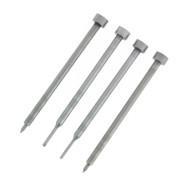 Set von 4 Durchschlagen - Hilfsmittel für das Entfernen Schlüsselblatt Klappschlüssel