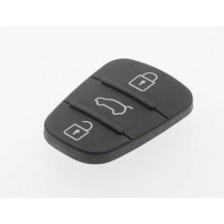 Tastenfeld für Hyundai Klappschlüssel - 3 Tasten - After Market Produkt