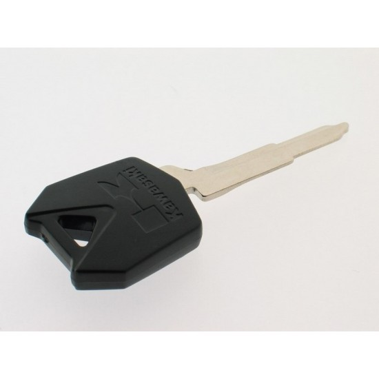 Kawasaki Motorschlüssel - 4D62 Transponder - Schwarz - Schlüsselblatt KW16 - After Market Produkt