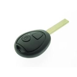 Land Rover 2 Tasten Schlüssel Rohling, für u.a. Land Rover Discovery - Schlüsselblatt HU92 - After Market Produkt