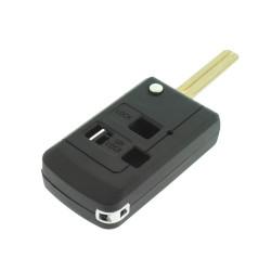 Lexus Klappschlüssel-Umbauset 3 Tasten, für Artikel 'LEX105' Schlüssel - interne Aufhängung Auge - Schlüsselblatt TOY48 - After Market Produkt