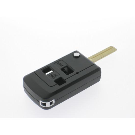 Lexus Klappschlüssel-Umbauset 3 Tasten, für Artikel 'LEX106' Schlüssel - Schlüsselblatt TOY40 - After Market Produkt