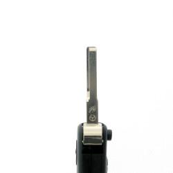 Klappschlüsselgehäuse für Mercedes Benz - 3 Tasten - Schlüsselblatt HU64 - After Market Produkt