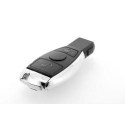 Smartkey Schlüsselgehäuse für Mercedes Benz - 2 Tasten - Ohne Elektronik - Für Jahr 2003 -2010 - After Market Produkt