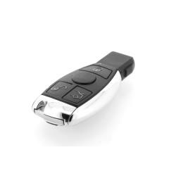 Smartkey Schlüsselgehäuse für Mercedes Benz -3 Tasten - Ohne Elektronik - Für Jahr 2006 -2010