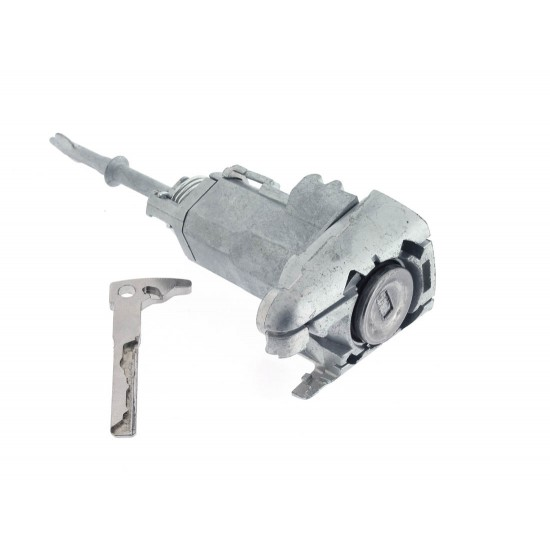 Linkes Tür Schloss mit Notschlüssel für Mercedes Benz CLK-C208 (1997 - 2002) - Schlüsselblatt HU64 - OEM Produkt
