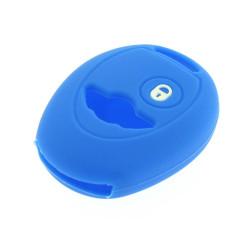 Schlüsselhülle Mini - 2 Tasten - Material Weichgummimaterial - Farbe dunkelblau - Für Artikel MIN101 - After Market Produkt