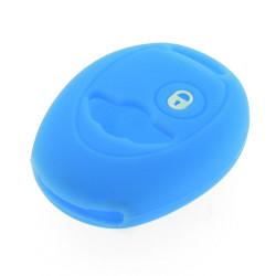Schlüsselhülle Mini - 2 Tasten - Material Weichgummimaterial - Farbe Hellblau - Für Artikel MIN101 - After Market Produkt