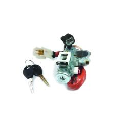 Zündschlossset mit 2 gefräßten Schlüsseln für Nissan Pick Up - Pathfinder  - Schlüsselblatt NSN11- OEM Produkt