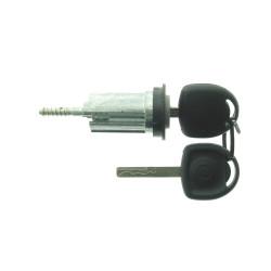 Zündschloss für Opel - mit 2 gefräßten Schlüsseln - Schlüsselblatt HU43 - After Market Produkt