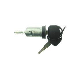 Zündschloss für Opel - mit 2 gefräßten Schlüsseln - Schlüsselblatt HU46 - Nut links - After Market Produkt