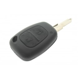 Schlüsselgehäuse für Opel Movano - Vivaro - 2 Tasten - After Market Produkt