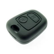 Peugeot 2 Tasten Schlüsselgehäuse für 107-207-307-406-407 u.a. Modelle - ohne Schlüsselblatt - After Market Produkt
