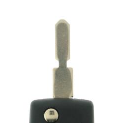 Peugeot Klappschlüssel Gehäuse 2 Tasten - Schlüsselblatt NE73 - After Market Produkt