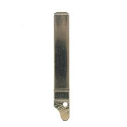 Schlüsselblatt VA2 - ohne Nut  - für Peugeot und Citroen Klappschlüssel  - After Market Produkt