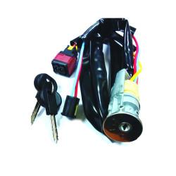Peugeot Komplettes Zündschlossset mit 2 gefräßten Schlüsseln für Partner 98-02 - Schlüsselblatt SX9 - After Market Produkt