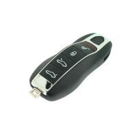 Smartkey für Porsche Cayenne - Panamera - Macan - 4 Tasten - Inklusive Notschüssel  - After Market Produkt