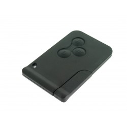 Schlüssel Karte Renault Scenic - Megane - 3 Tasten - 434 Mhz - non keyless - After Market Produkt