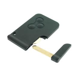Schlüssel Karte Renault Megane 3 Tasten - 434 Mhz - keyless - OEM Produkt