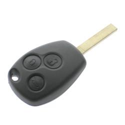 Smart Schüssel Gehäuse 3 Tasten - Schlüsselblatt VA2 - After Market Produkt