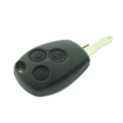 Nissan Schüssel Gehäuse 3 Tasten - Schlüsselbart NE73 ohne Logo - After Market Produkt