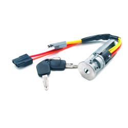 Komplettes Zündschlossset mit 2 gefräßten Schlüsseln für Renault Twingo - Schlüsselblatt NE74- OEM Produkt